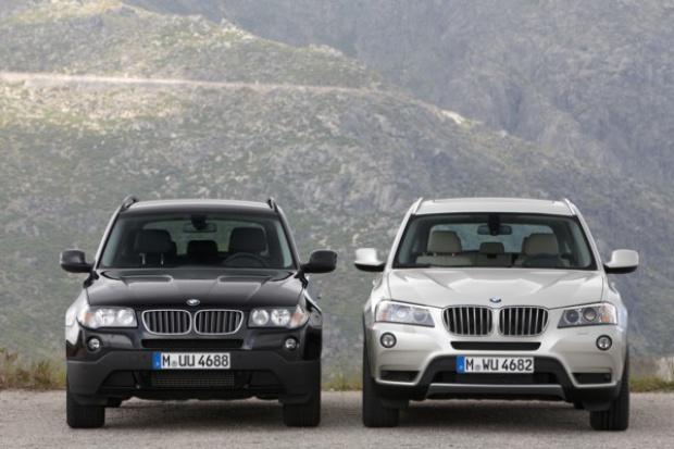 Płynna zmiana BMW X3