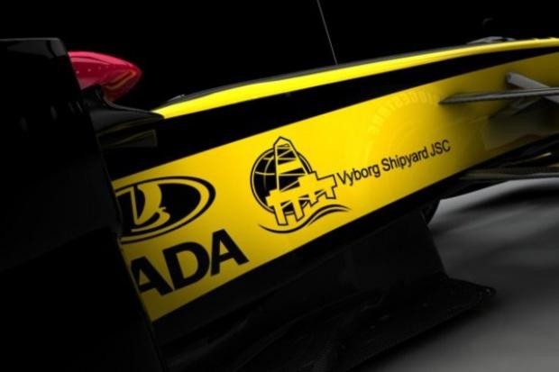 Stocznia z Vyborga na bolidach Renault F1