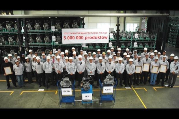 5 milionów produktów z wałbrzyskiej Toyoty