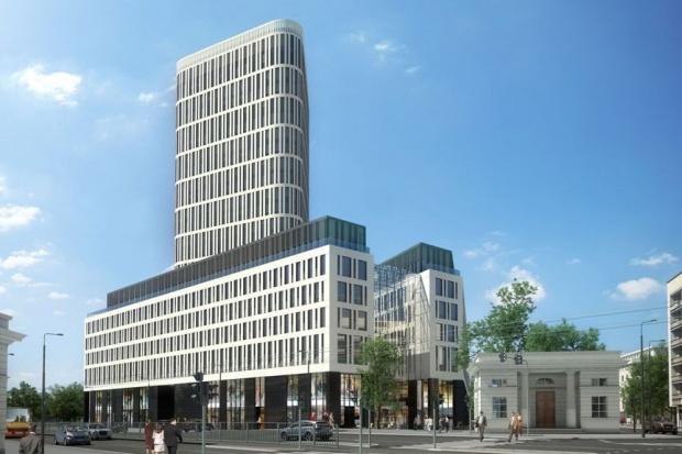 Rozpoczęto budowę kompleksu biurowo-handlowego w Warszawie