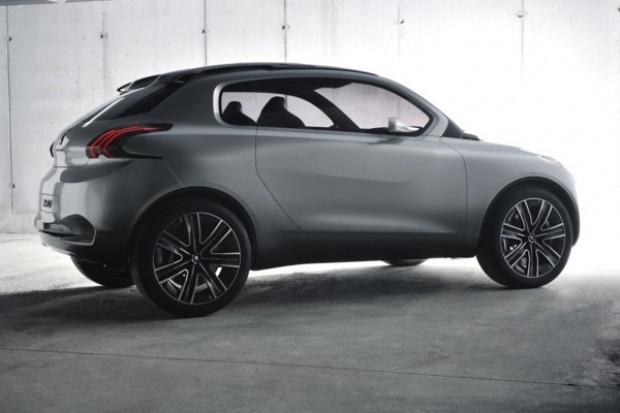 Zupełnie nowy miejski Peugeot