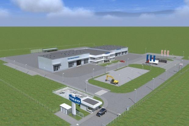 Skawina nowym punktem na mapie Volvo Truck