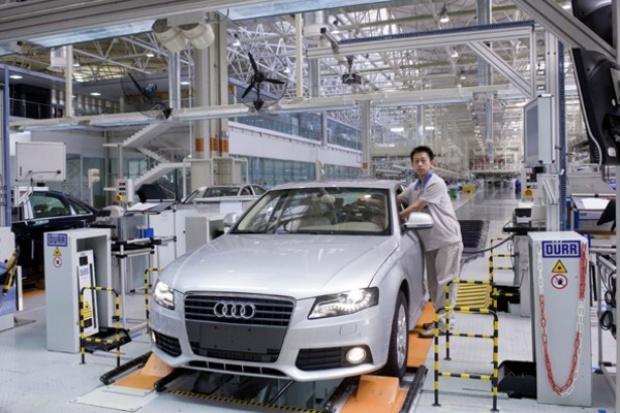 1 000 000 razy Audi w Chinach