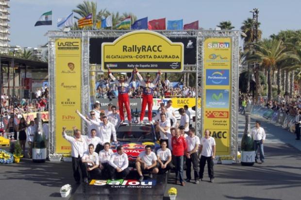 WRC: Citroen i Loeb biorą wszystko