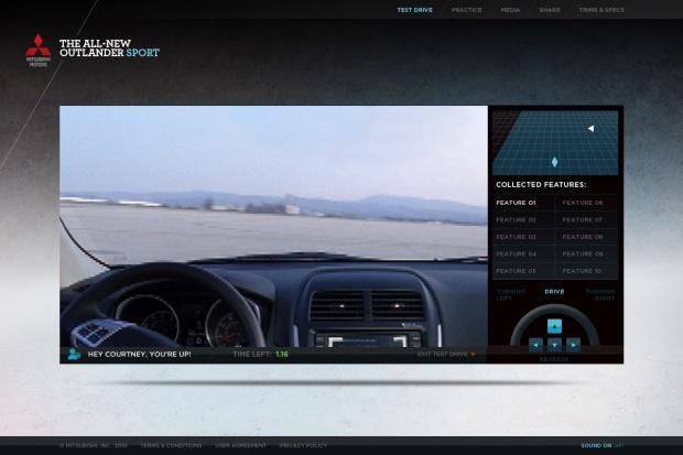 Mitsubishi organizuje jazdy próbne przez Internet