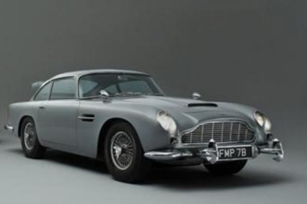 Aston Martin Jamesa Bonda sprzedany za 2,6 mln funtów