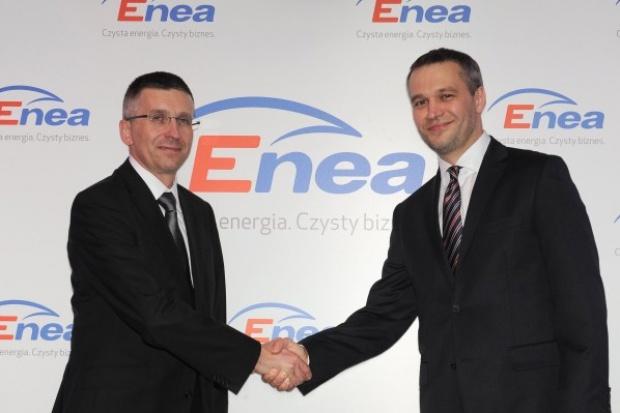 Michał Żebrowski występuje w kampanii promocyjnej Enea