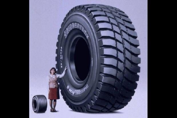 Opona-gigant od Bridgestone'a