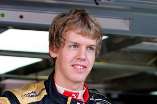 Vettel mistrzem  świata F1: ten dzieciak śmiga jak nikt