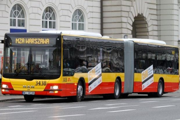 Nowe MAN'y na ulicach Warszawy