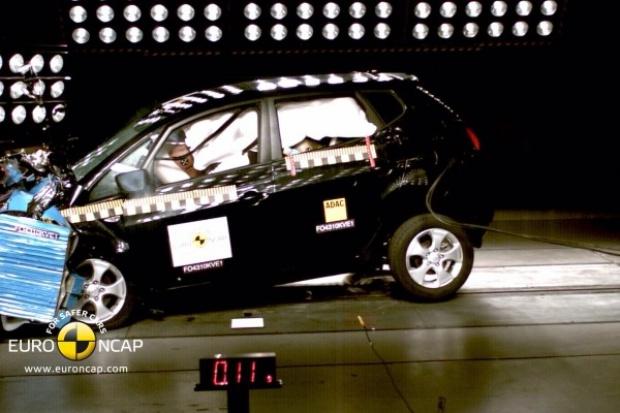 Najwyższe noty EuroNCAP dla Kia Sportage i Kia Venga