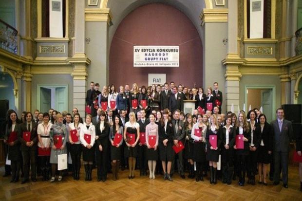 Fiat nagradza zdolne dzieci swoich pracowników
