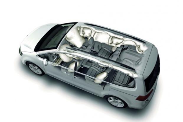 Euro NCAP: Passat i Sharan na piątkę