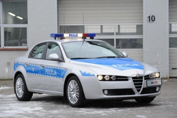 Alfa Romeo 159 na służbie policji