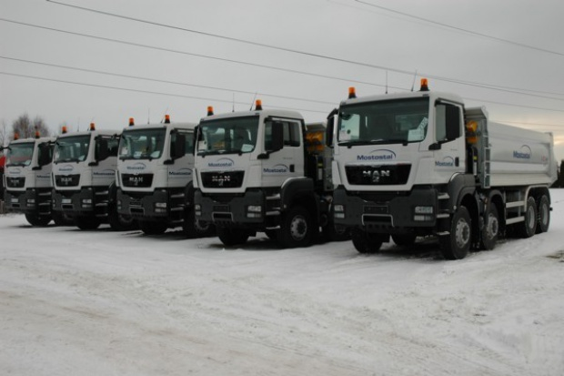 MAN po raz kolejny liderem rynku ciężarówek