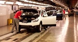 Brytyjski Nissan Sunderland świętuje