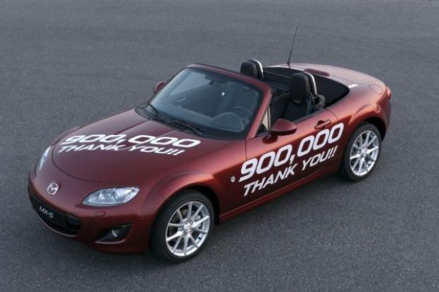 Mazda MX-5 godna Guinnessa