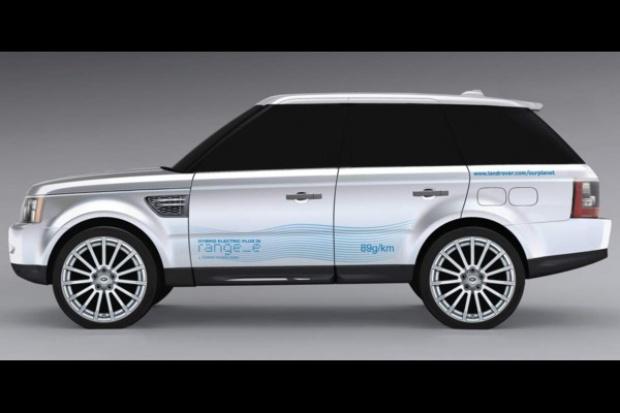 Range_e: Land Rover też wchodzi w hybrydy