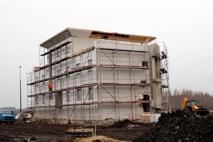 W nowych budynkach sam kocioł węglowy już nie wystarczy