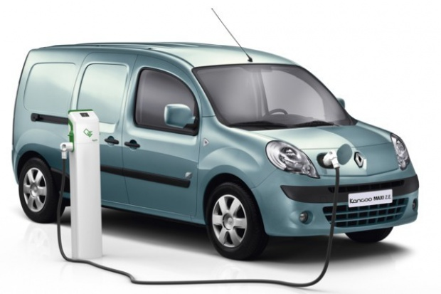 Renault wprowadza większego elektrycznego kangura
