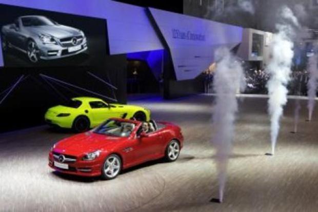 Genewa 2011 w wykonaniu Mercedesa