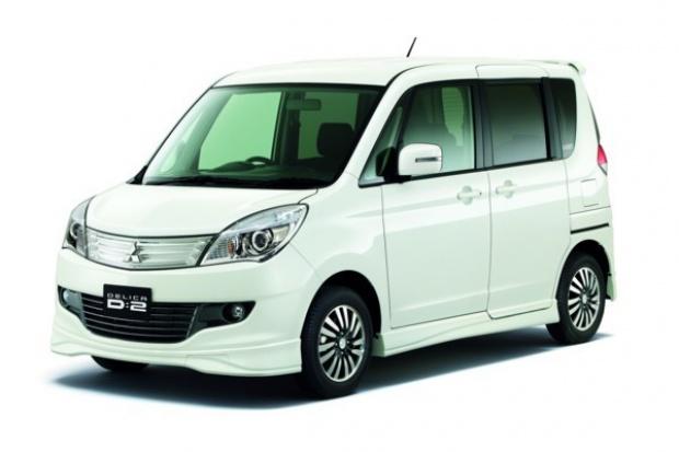 Delica D:2 - filozofia minivana tylko dla Japończyków
