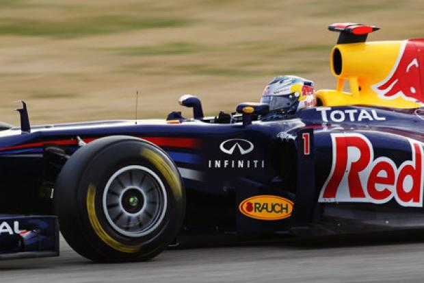 Infiniti pojedzie w F1 .... bolidami Red Bull Racing