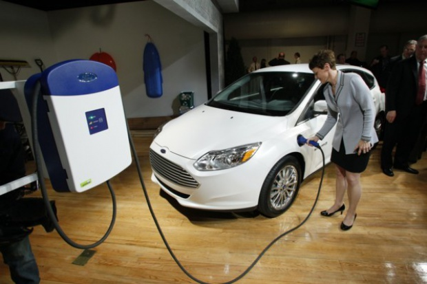 Ford przygotował elektryczną flotę