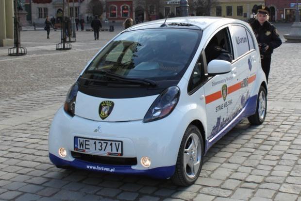 Elektryczny radiowóz w Częstochowie