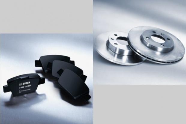 Bosch rozszerza program tarcz i klocków hamulcowych