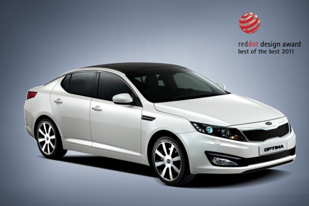 Kia Motors punktuje w red dot 2011
