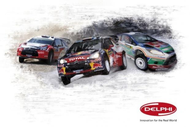 Delphi oficjalnym partnerem WRC