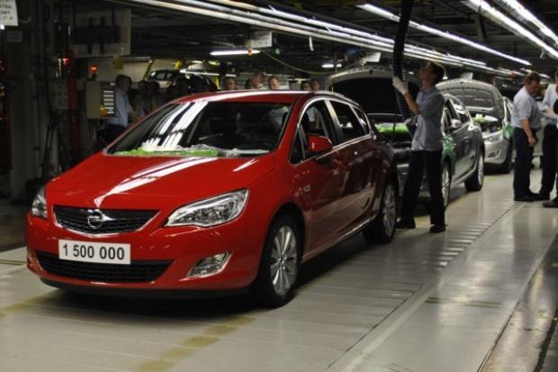 Już 1,5 miliona samochodów z gliwickiej fabryki Opla