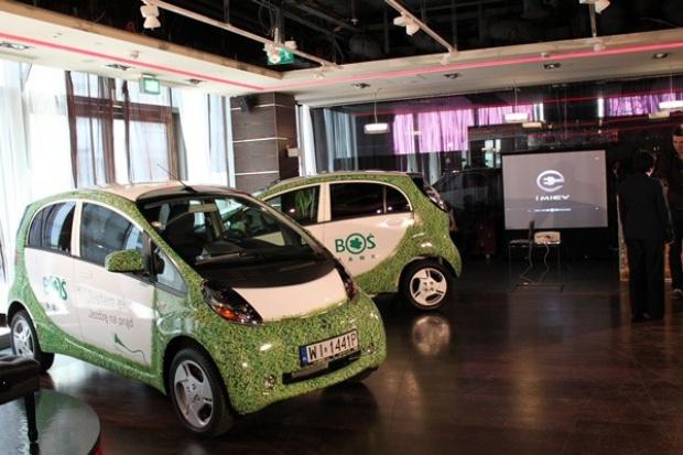 Elektryczne Mitsubishi we flocie Banku Ochrony Środowiska