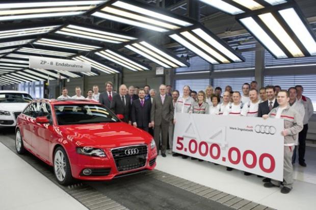 Jubileusz produkcyjny Audi