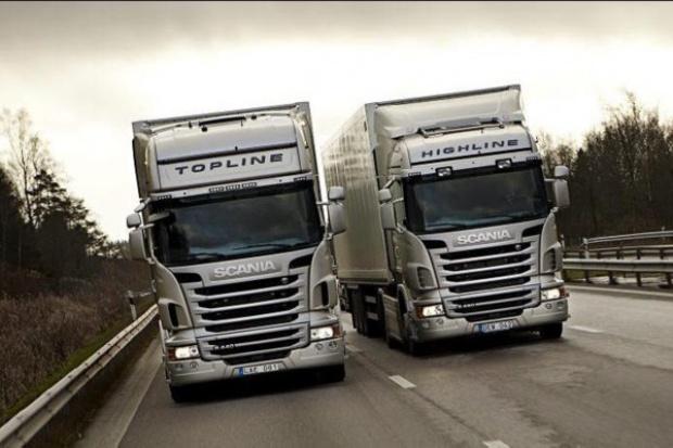 Silniki Euro6 od Scanii