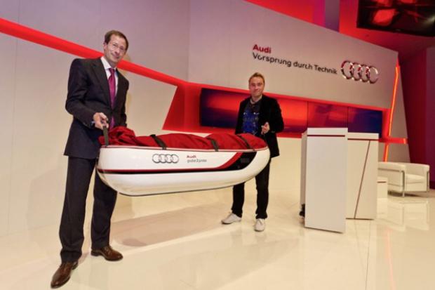 Z Audi od bieguna do bieguna