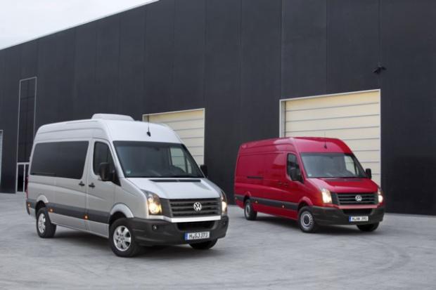 Crafter: ważna premiera w grupie aut dostawczych