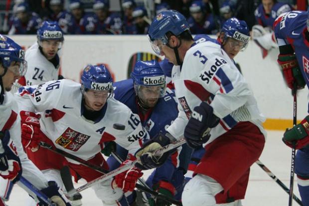 Flota Skody na Mistrzostwach Świata w Hokeju na Lodzie