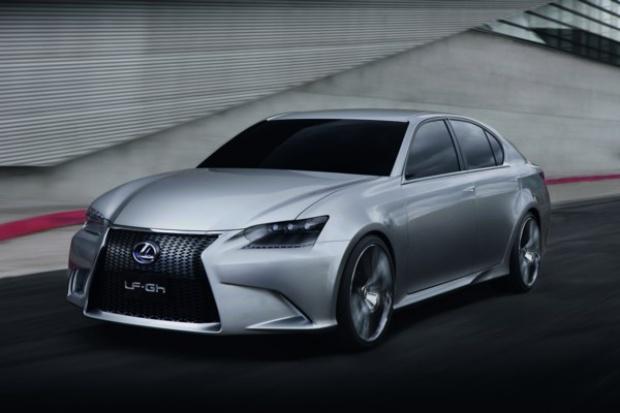 Sportowy sedan hybrydowegio Lexusa przyszłości