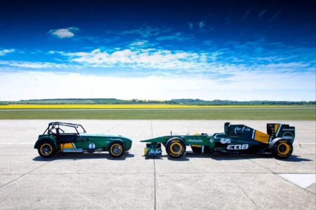 Caterham przejęty przez zespół Formuły 1