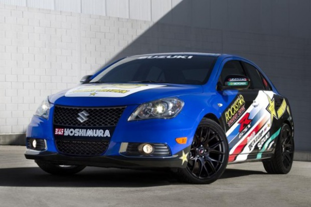 Nowe koncepcje Suzuki Kizashi