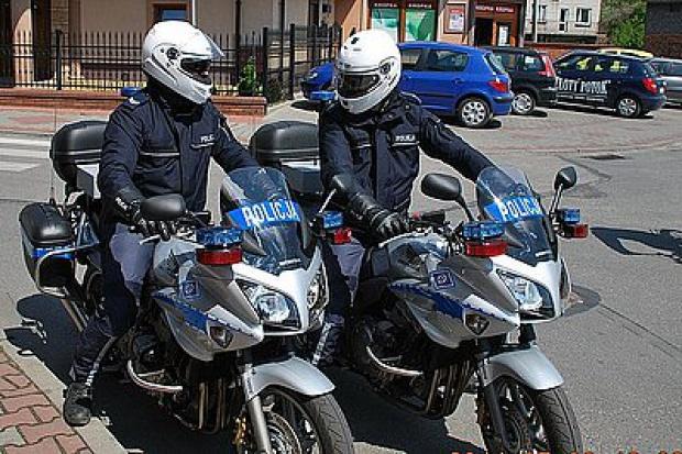 Nowe motocykle w służbie śląskiej drogówki