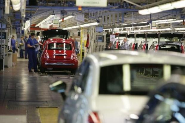 Spadek produkcji samochodów w Polsce