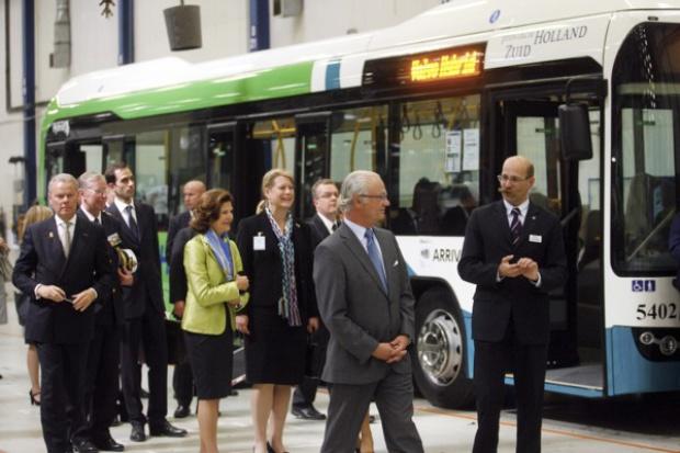 Królewska wizyta w Volvo Polska