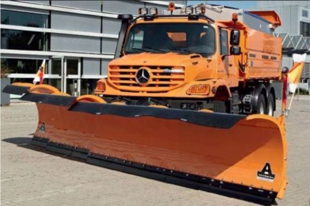 Mercedesy dla branży budowlano-drogowej