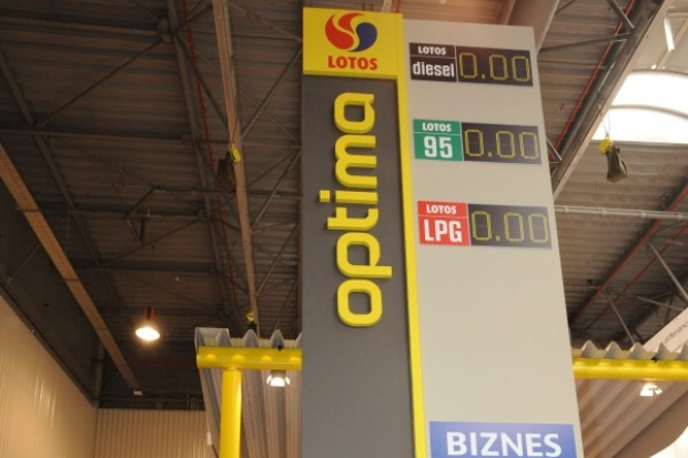 130 stacji Lotos Optima do 2015 roku