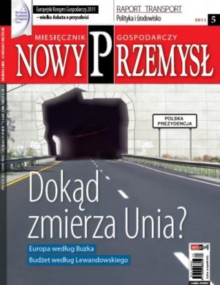 Magazyn Gospodarczy Nowy Przemysł 05/2011