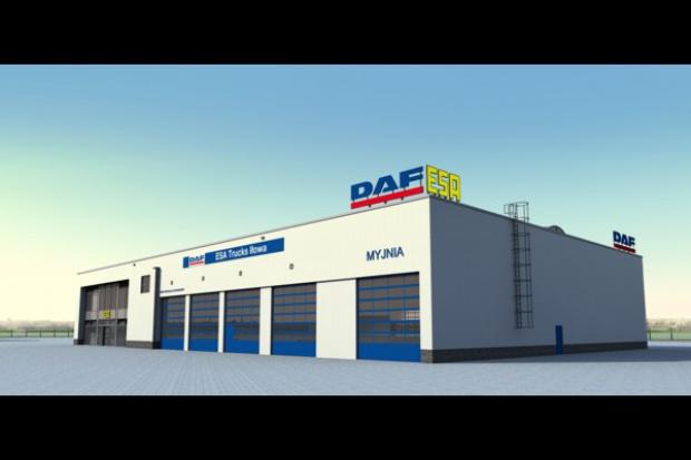 Nowy serwis DAF w Iłowej