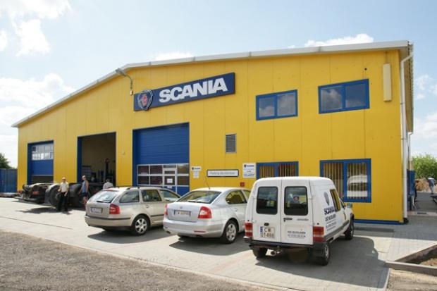 Nowy serwis Scania pod Toruniem